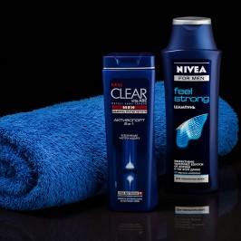 Съемка мужского шампуня Nivea