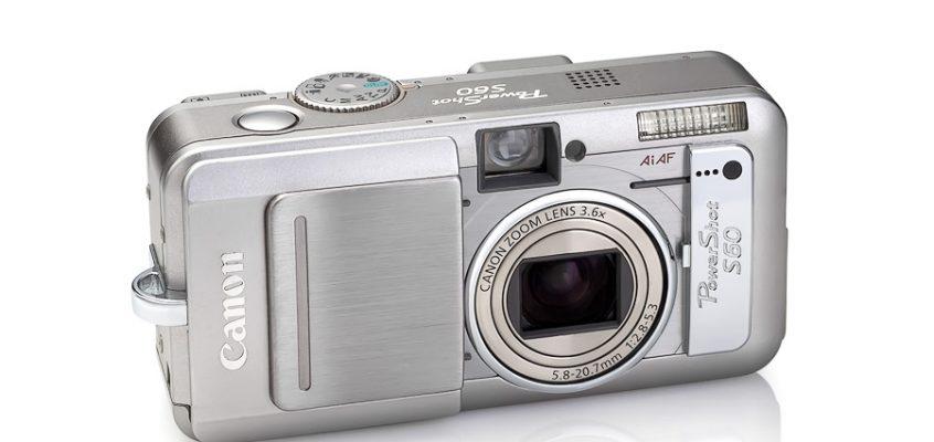 Фотоаппарат Canon PowerShot S60