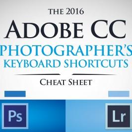 Горячие клавиши Photoshop и Lightroom