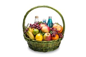Фотосъемка фруктовых корзин